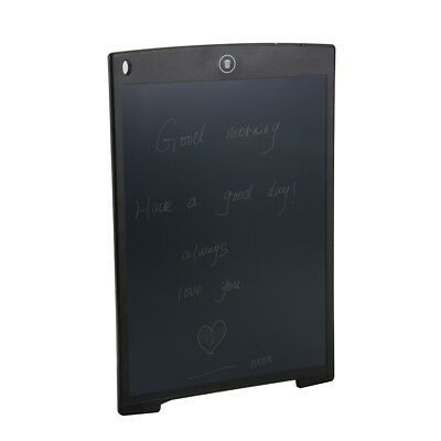 """12"""" LCD eWriter Tablet Writing Drawing Pad Memo Message Board for Children AH321"""