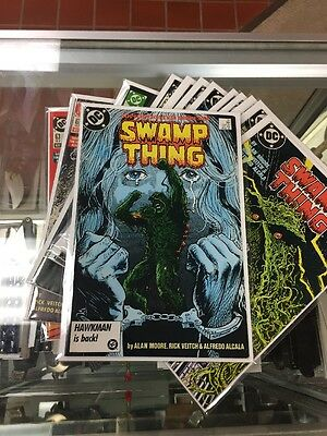 Swamp Thing DC 1982 Series Issues 51-63