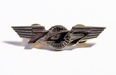 Boeing 747 WINGS gold for Pilot Crew as uniform accessory Pilot Wing metal