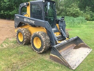 2012 John Deere 332D Skid Steer Loader Low Hours