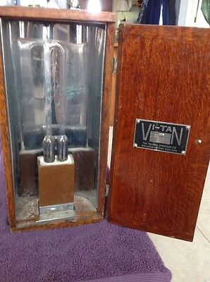 1930's Vi-Tan Tanning Machine - with Goggles - Vintage - Medical Equipment