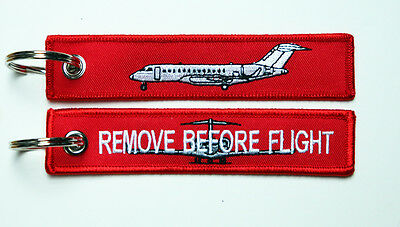 Keyring Bombardier Global Express Business Jet Remove Before Flight for Pilots