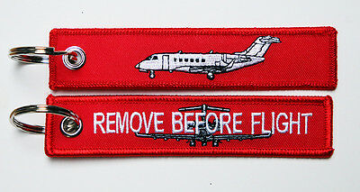 Keyring Bombardier Challenger 300 Business Jet Remove Before Flight for Pilots
