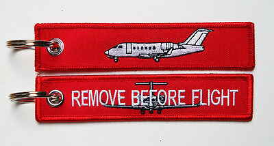 Keyring Bombardier Challenger 600 Business Jet Remove Before Flight for Pilots