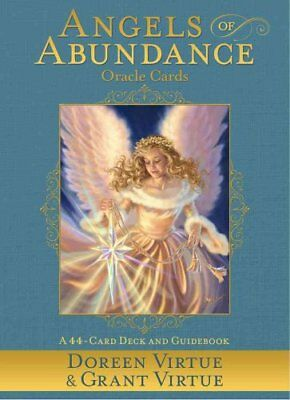 Angels of Abundance Oracle Cards A 44-Card Deck and Guidebook 9781401944445