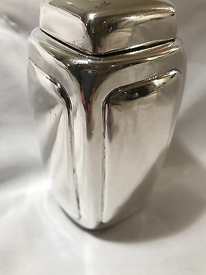 RARE - Sanborn Sterling Silver Lidded Container - Mexico