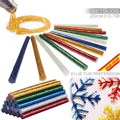 Recambio Pistola Silicona Caliente Purpurina Barras 11 7 Mm X 19 20Cm Hot Sticks