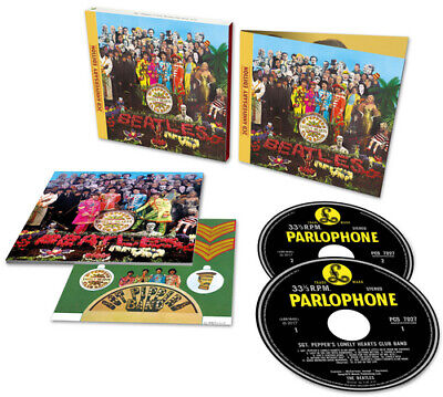 The Beatles : Sgt. Pepper's Lonely Hearts Club Band CD 2 discs (2017)