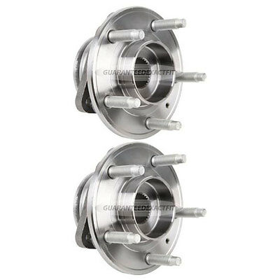 Pair New Front Left & Right Wheel Hub Bearing Assembly For Buick And Chevrolet