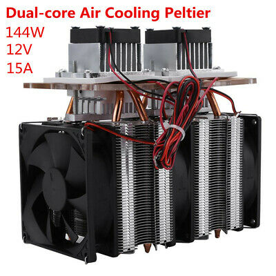 144W Dual-chip Semiconductor Peltier Cooler Air Cooling Dehumidification CE