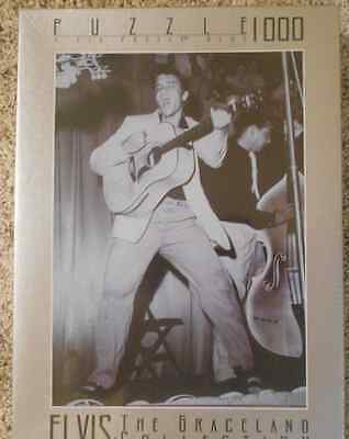 1996 Elvis The Graceland Collection 1000 Piece Jigsaw Puzzle Factory Sealed