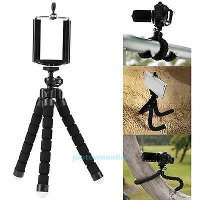 Flexible Mini Tripod Octopus Stand Mount Holder For Samsung iPhone7 Gopro Xiaoyi