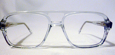Vintage Regency Eyewear Baretta Crystal 59/17 Men's Eyeglass Frame New Old Stock