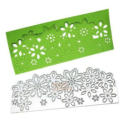 Flower Edge Metal Cutting Dies Stencils Scrapbooking Die Cut Paper Craft Decor