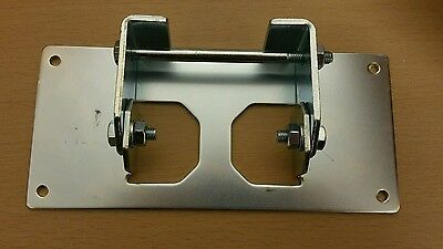 Brooks acorn stairlift track cleat fixing bracket foot spare part new rrp £41