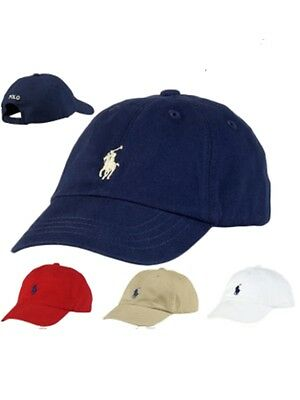 Authentic Ralph Lauren Polo baby boys layette baseball cap hat up to 12mth 47cm