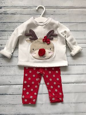 Baby Girls Clothes 0-3 Months- Cute Christmas Pyjamas - Check our Bundles