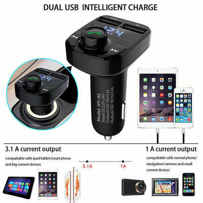 Bluetooth FM Transmitter 1.1 Inch Screen Car MP3 Player Low Consumption YT