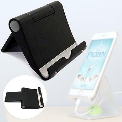 Universal Multi Angle Stand Holder For iPad Air 2 iPhone Samsung Tablet Black U-