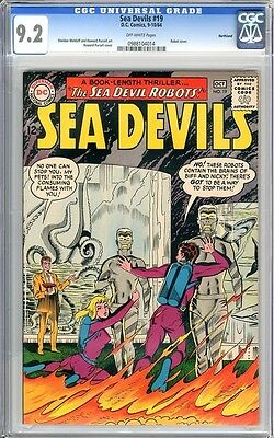 Sea Devils   #19   CGC   9.2   NM-    off- white pages