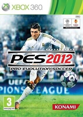 Pro Evolution Soccer 2012 NEW game XBOX 360 PES 12 top football jersey ball boot