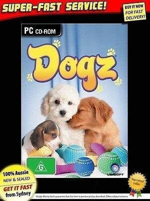 DOGZ game for Windows PC (NEW) computer software animals dog dogs petz pet kids