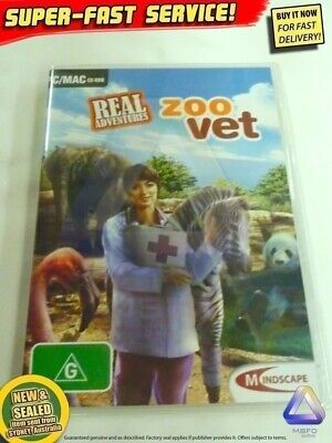 ZOO VET game Windows PC (NEW!) Animals Dr Petz Farm kids toys computer software