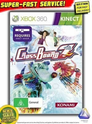 Crossboard 7 game for Xbox 360 Kinect (NEW!) Adrenaline Misfits Aussie PAL R4 AU