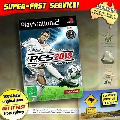 Pro Evolution Soccer 2013 game for PS2 NEW PES 13 top football jersey ball boots