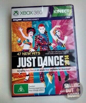 Just Dance 2014 Xbox 360 Kinect ✓ NEW ✓ SEALED ✓ AUSSIE ✓ Dancing Music X3 Game!