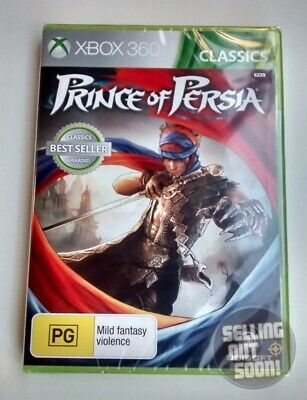 Prince Of Persia Xbox 360 NEW & SEALED AUSSIE game for PAL X3 console kids toys