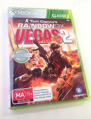 Rainbow Six 6 Vegas 2 Complete Edition Xbox 360 NEW + SEALED! Aussie PAL console