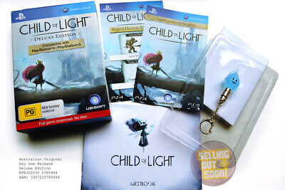 Child Of Light PS3+PS4 RPG Game ✓NEW ✓RARE ✓OZI ✓DELUXE Collectors Edition + DLC