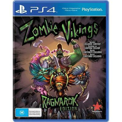 Zombie Vikings Ragnarok Edition (PS4) NEW Playstation 4 console game PAL version
