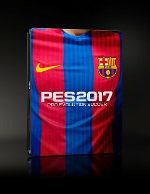 PES 17 PS4 NEW FC Barcelona STEELBOOK EDITION Pro Evolution Soccer 2017 football