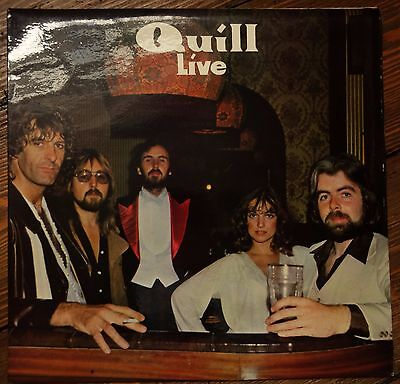 Quill - Live (1979 Autographed Kite Records LP. KR10) UK Folk Rock