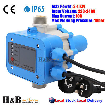 water pump controller Auto Pressure Control Electronic Switch 10 Bar 2.4KW G0001