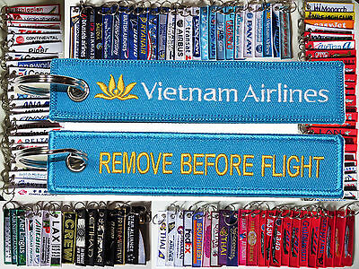Keyring VIETNAM Airlines Remove Before Flight keychain for pilot