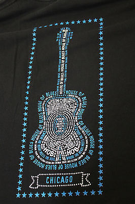 House of Blues Chicage Large black t shirt