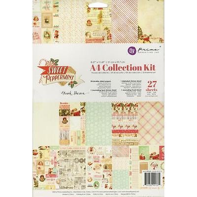 Prima Marketing Sweet Peppermint Collection Kit A4