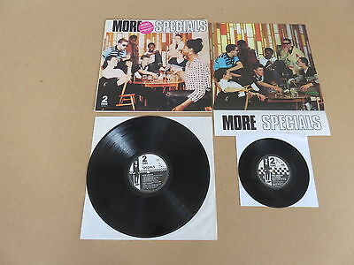 """THE SPECIALS More Specials 2 TONE LP RARE RUBY RED 7"""" & POSTER 1ST UK PRESSING"""