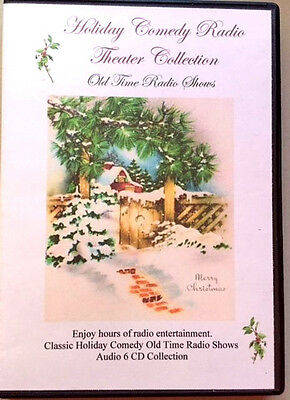 Holiday Comedy Radio Theater Collection V1- Audio-Jack Benny-Dennis Day & MORE!