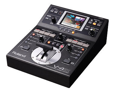 Roland V-4EX Four Channel Digital Video Mixer Effects Touch Control New DHL