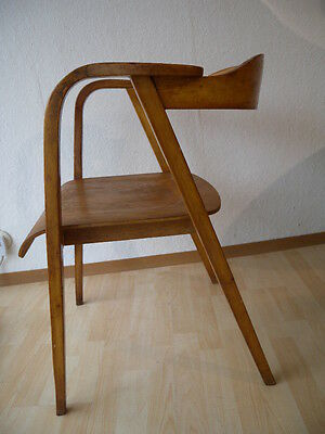 Seltener plywood arm chair 50er Vintage Armlehnstuhl Stuhl Chair Finn Juhl Jalk