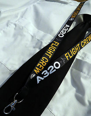 Lanyard AIRBUS A320 FLIGHT CREW keychain neckstrap for pilot crew Lanyard A 320