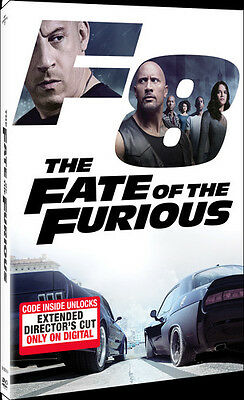 Fate Of The Furious (2017, DVD New)