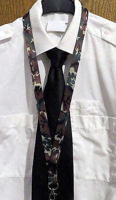 Lanyard ARMY GREEN CAMOUFLAGE CAMO Marines Forest Field Pattern Lanyard US Army
