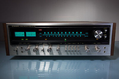Pioneer SX-1010 AM/FM Stereo Receiver 100 watts Per Channel Serviced