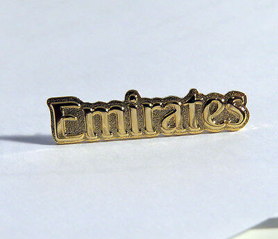 Pin EMIRATES AIRLINES 35mm Pin Gold for Pilots Crew