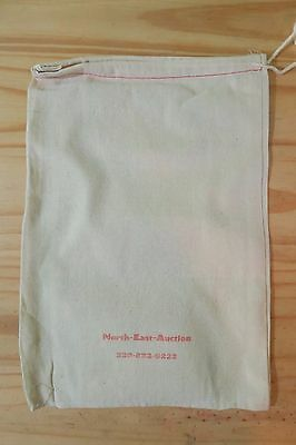 "(5)  Canvas/Cloth Coin Bag // 8"" x 12"" // NEW // FREE SHIPPING!"
